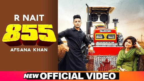 855 (Full Song) By R Nait, Afsana Khan Poster