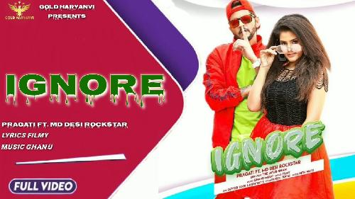 IGNORE (Full Song)  By MD Poster