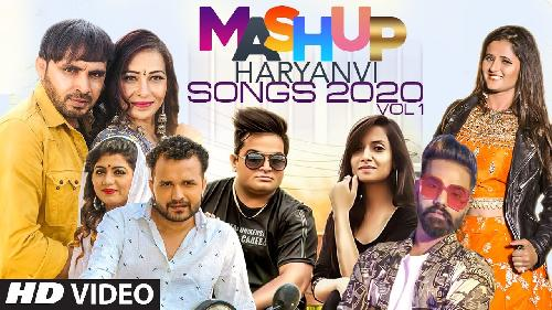 Mashup Haryanvi Songs 2020 (Top Mashup Songs) By Raj Mawer, Kaka, Ruchika Jangid, Raju Punjabi Poster